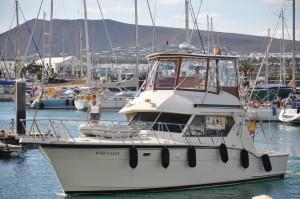 Per a motor en el Aura Marina, Academia Náutica Lanzarote.